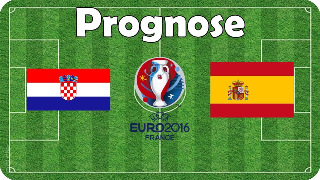 Spanien Kroatien Em