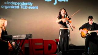 TEDxOjai - Lili Haydn - How Music Saved My Brain