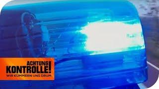 Blaulichteinsatz: PKW hat Geldtransporter angefahren! | Achtung Kontrolle | kabel eins