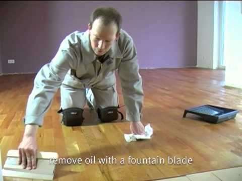 Auro Oiling Of Wooden Floors Youtube