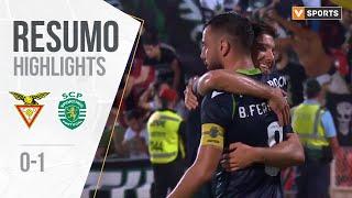 Highlights   Resumo: Desp. Aves 0-1 Sporting (Liga 19/20 #7)
