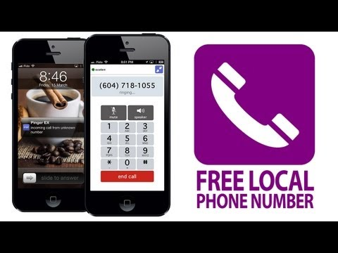 How to Get a FREE LOCAL PHONE ...