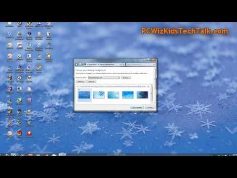 Winter 2011 Windows 7 and 8 Desktop Theme