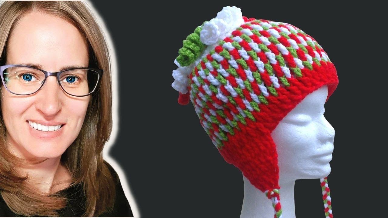 Gum Drops Hat Crochet Tutorial - YouTube
