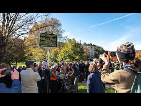 Vermont dedicates civil union historic marker