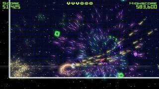 Geometry Wars: Retro Evolved PC Gameplay - 200k
