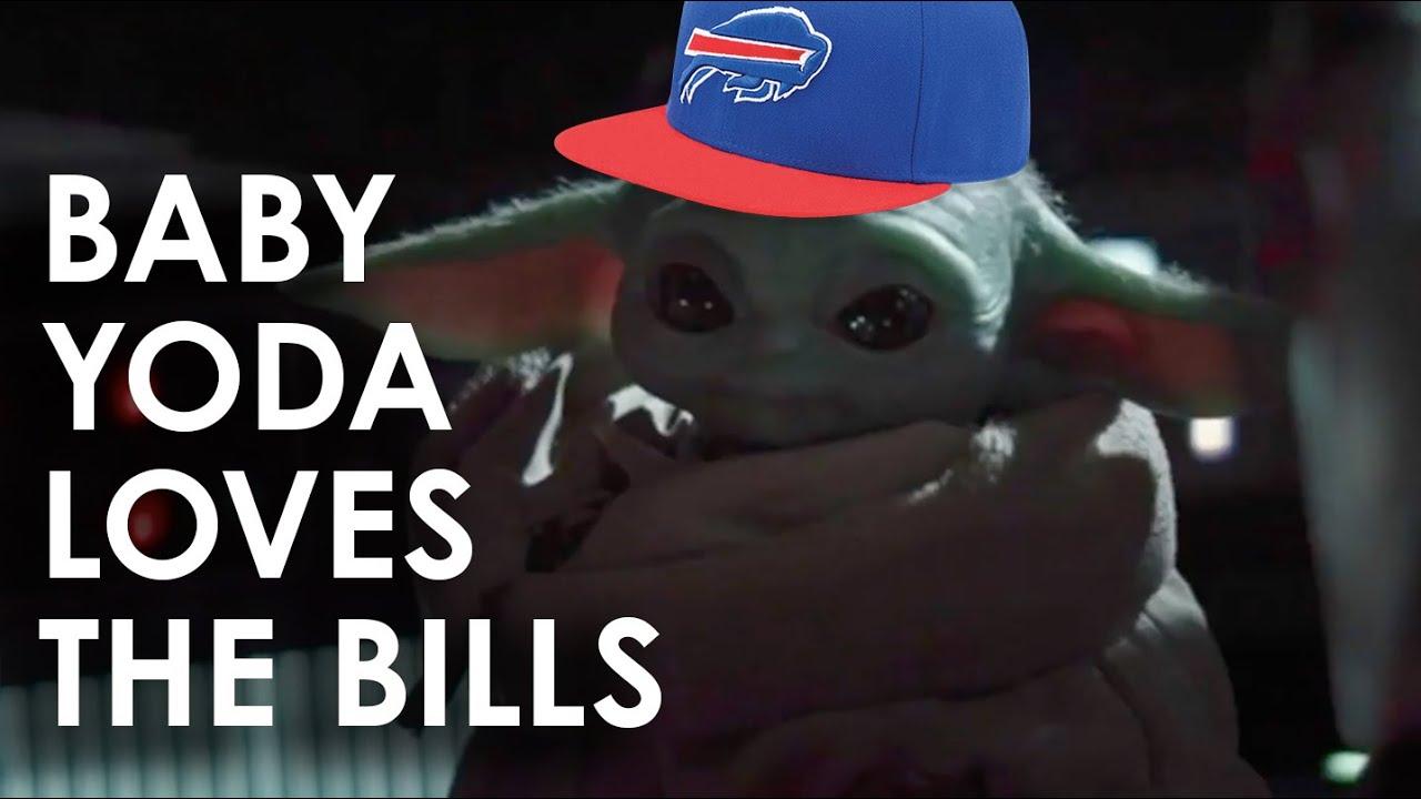 Baby Yoda Loves The Buffalo Bills Youtube