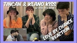 Gambar cover Tincan & Klano Kiss Scenes - Reaction W/ Revil, KC, & Sophie (Collab)
