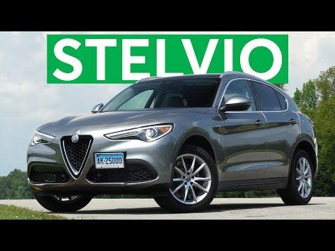 4K Review: 2018 Alfa Romeo Stelvio Quick Drive   Consumer Reports