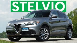 4K Review: 2018 Alfa Romeo Stelvio Quick Drive | Consumer Reports