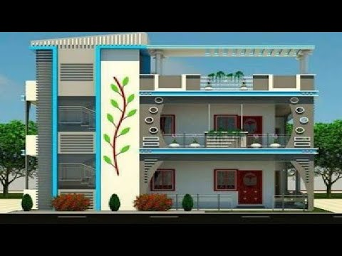 Best 150 House front elevation design - Small house ...