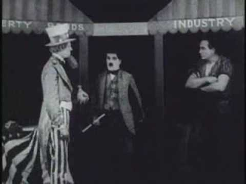 Uncle Sam, banks -bonds,military complex - COMEDY Charlie Chaplin,