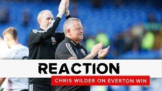 Chris Wilder | Everton v Sheffield United | Reaction interview