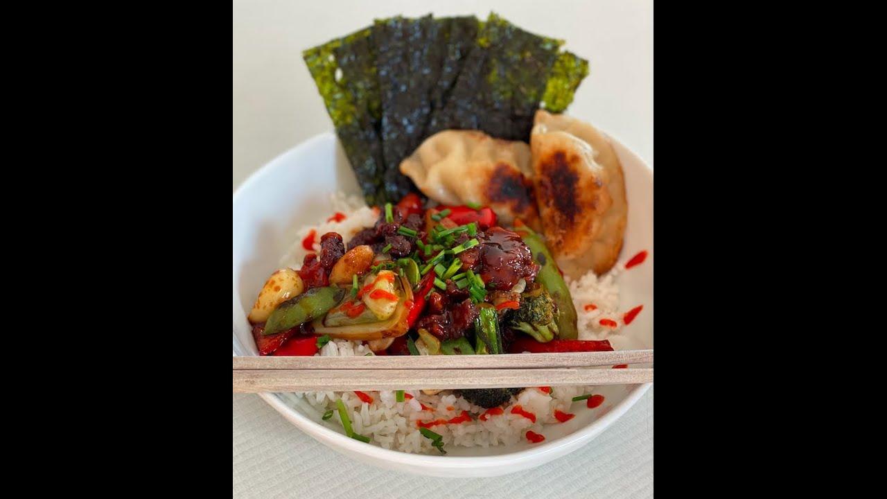 Veggie Stir-Fry & Fried Rice