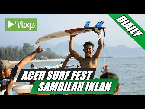 ACEH SURFING FESTIVAL 2016, ACEH BESAR, with BANANABANI CHIP