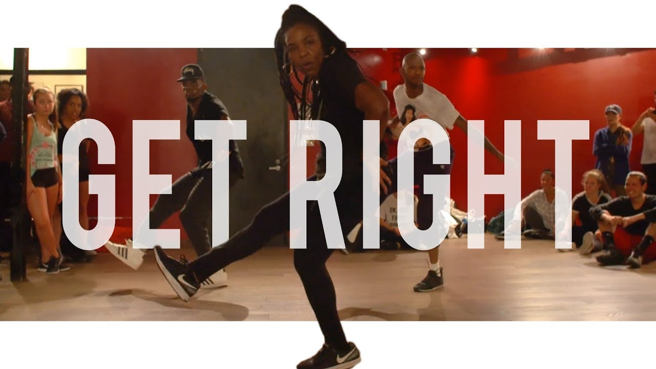 Jennifer Lopez - Get Right | Choreography With Karon Lynn