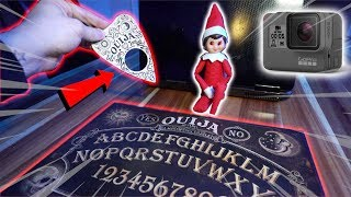 (DEMON SEEN) We Pointed the CAMERA through the Planchette EYE at the Elf on the Shelf!!! (OMFG)