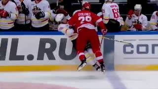 KHL Top 10 Hits for Week 6(Все хайлайты и моменты матчей доступны для просмотра на http://video.khl.ru/, 2016-10-07T07:03:36.000Z)