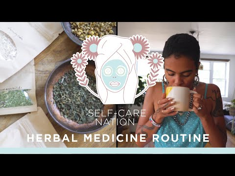 An herbal medicine routine from Sara Elise | Self-Care Nation | Well+Good