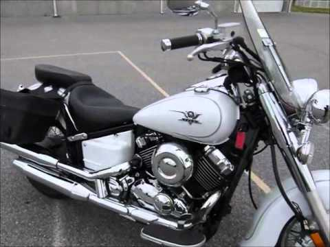 2009 yamaha v star 650 classic stock 9 8512 demo ride walk around youtube. Black Bedroom Furniture Sets. Home Design Ideas
