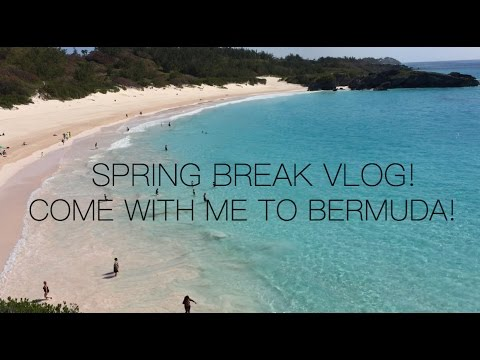 SPRING BREAK VLOG! Come With Me To BERMUDA!