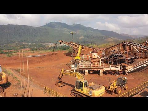Kingho Mining Company on general mining activities at Tonkolili Iron Ore Mines (Episode 1)