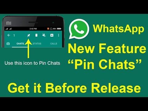 WhatsApp New Pin Chats Feature क्या है और कैसे Use करें | Android Member