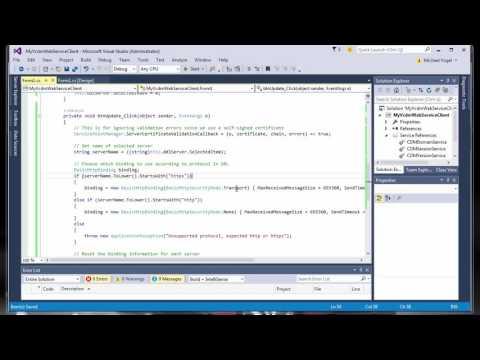 API programming with vCDM – Server integration using web services