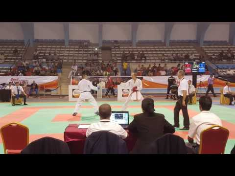 Hicham Mallouli VS Ilyass Oufkir Kumite Male -84KG Final Open International Fes