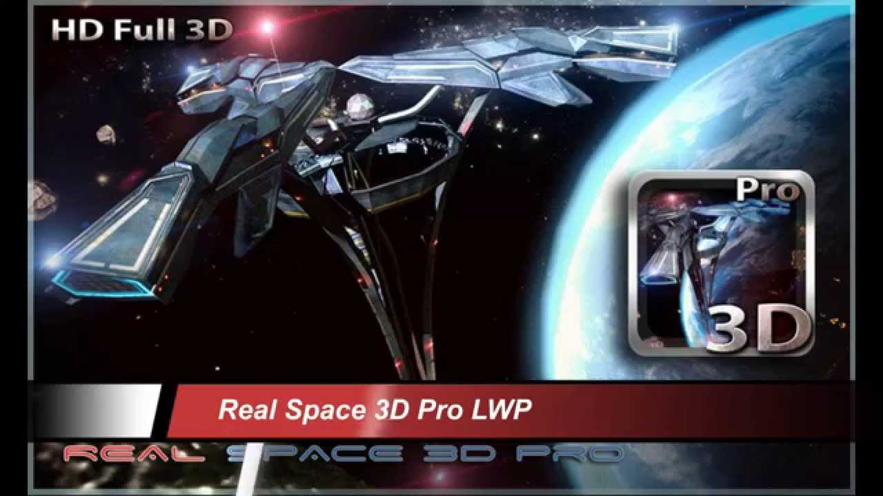 3 Best PAID 3D Space Live Wallpapers APK For Free Download