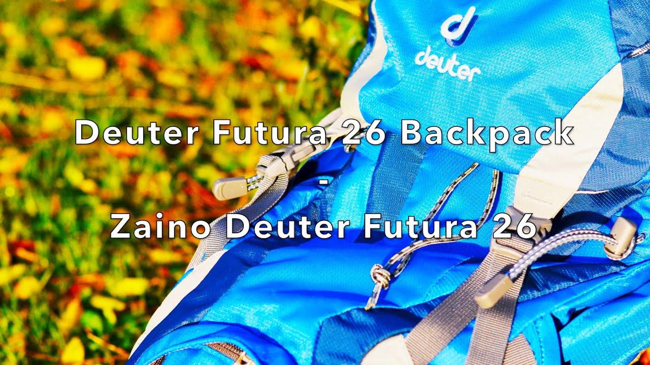 9c79d1d33a ZAINO DEUTER Futura 26 Litri   DEUTER Futura 26 BACKPACK REVIEW ...