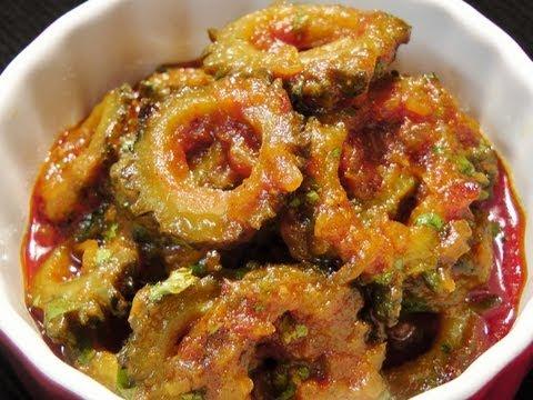 Karela sabzi (Karlyachi Bhaji / Bitter-gourd Masala)