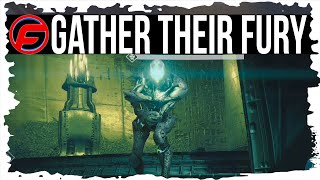 Destiny GATHER THEIR FURY QUEST WALKTHROUGH The Dark Below ERIS MORN Quest URN OF SACRIFICE