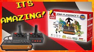 مراجعة AtGames Atari Flashback X - mp3 مزماركو تحميل اغانى