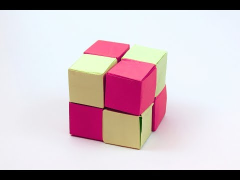 Origami Infinity Cube | Paper Toys | For Kids Origami