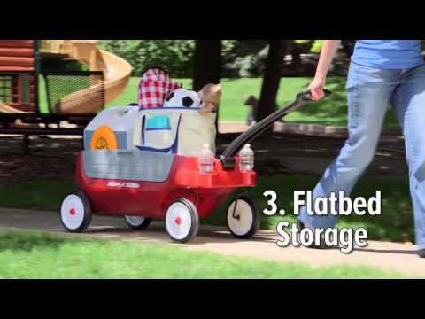 Radio Flyer - Grandstand Wagon 3-in-1 | Toys R Us Canada