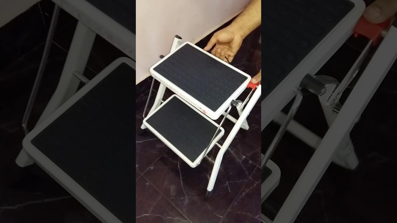 Operation Of Hailo Folding Step Stool Mini Youtube