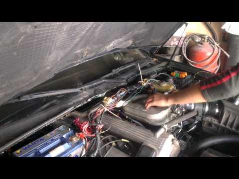 BMW m42 на январе 5.1 первые попытки запуска