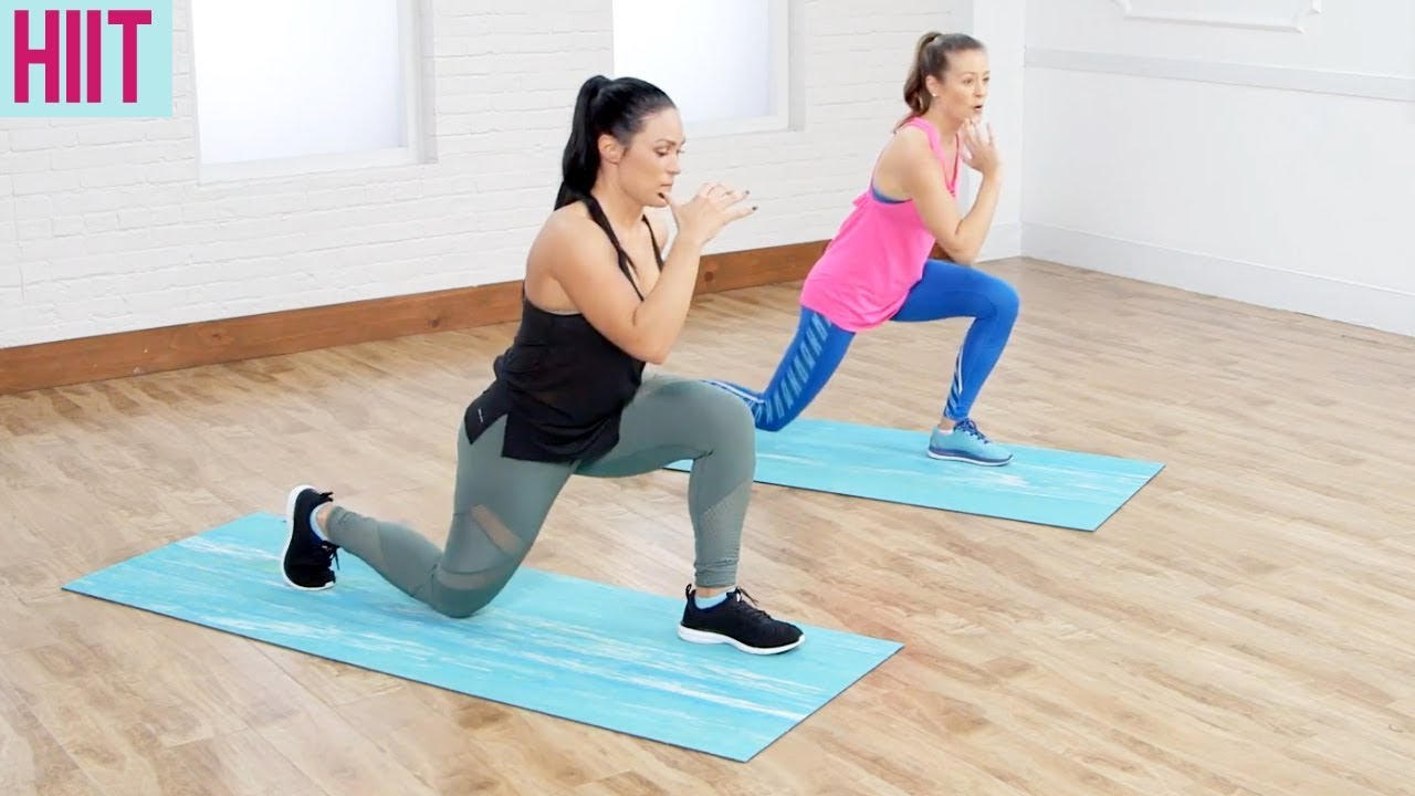 30-Minute No-Equipment Full-Body HIIT With Tabata