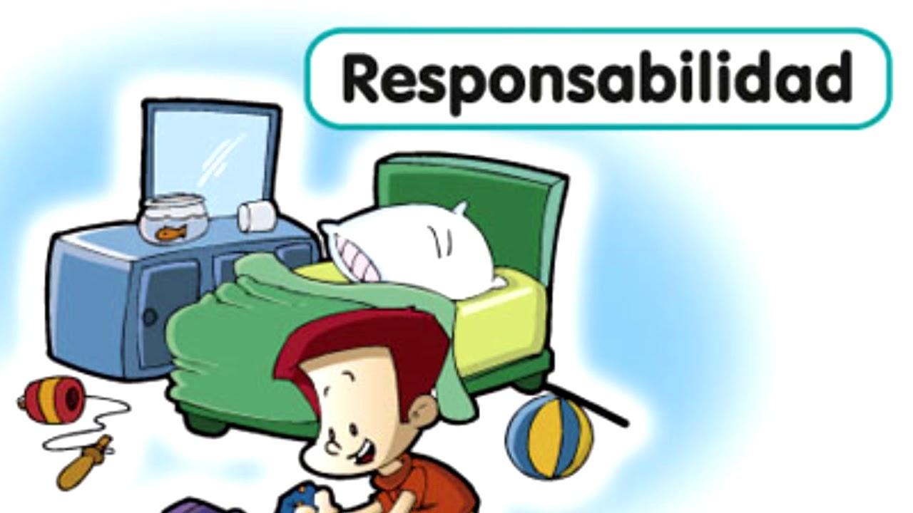 La Responsabilidad Canción Infantil Youtube