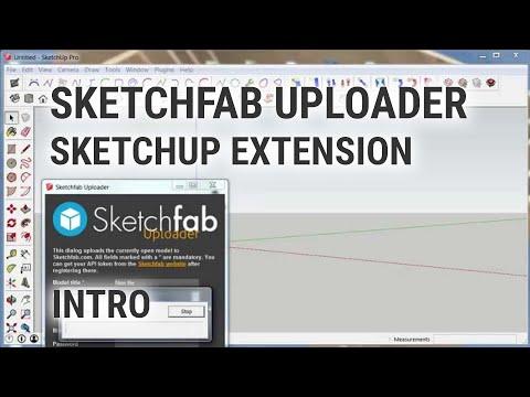 Sketchfab Uploader Extension for SketchUp