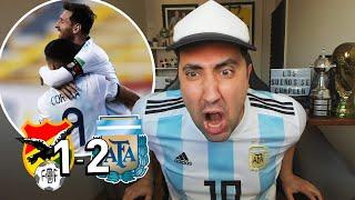 BOLIVIA 1 - 2 ARGENTINA | Reacción Hincha Argentino | Eliminatorias Qatar 2022