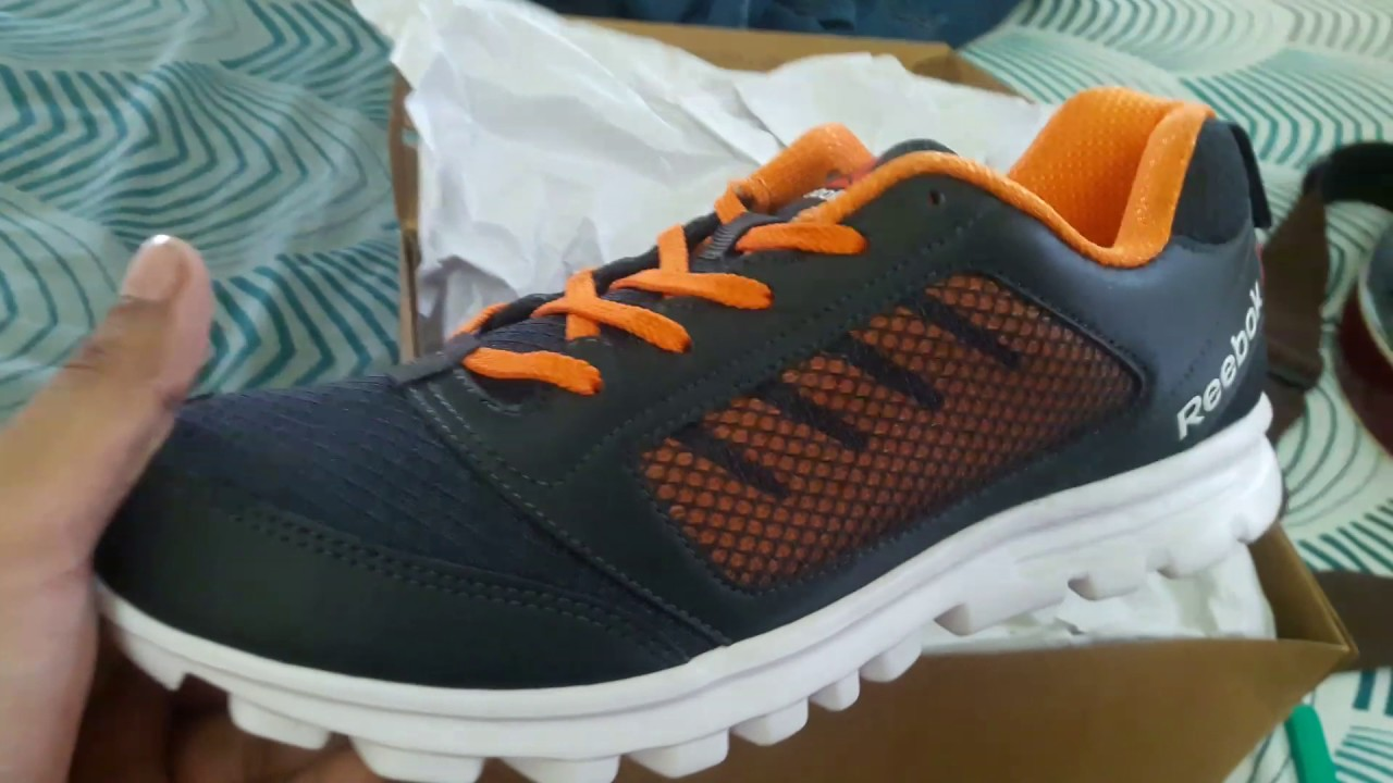 8d3da85d60d My new REEBOK RUN STORMER(COLOUR -NACHO GRAVEL WHITE) UNBOXING - YouTube