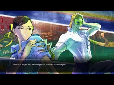 Street Fighter V: Story Mode   All Characters [16]   (Japanese) HD