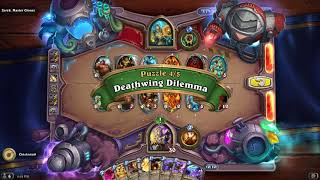 GUIDE: Zerek, Master Cloner Boomsday Puzzle Lab Mirror Solutions / Answers - FAST (Hearthstone)