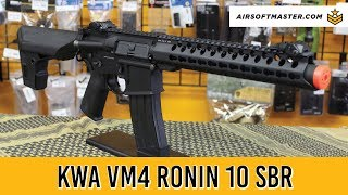 KWA VM4 Ronin 10 SBR Adjustable FPS Full Metal Airsoft Gun