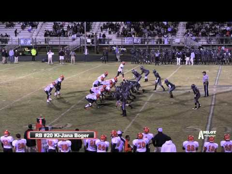 #20 Ki-Jana Boger 2012 Football Season Highlight