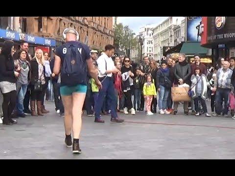 Gay Man | Street Entertainer | London Street Performer