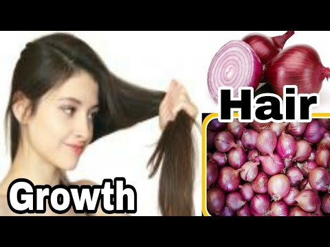 [Hindi] How to growth Hair with Onion juice step step by easy process!!