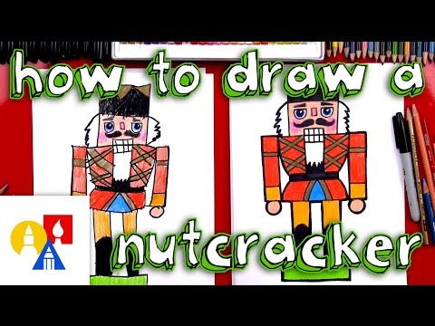 How To Draw A Christmas Nutcracker